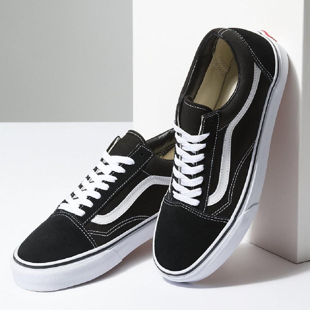 385b4248e3 Vans Old Skool Black White boty