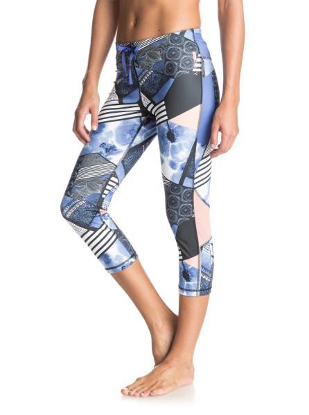 ROXY - Stay On - Capri Pants - GEO MIX 40 COMBO TRUE BLACK FL - 3 4 dámské  fitness legíny dd95721112