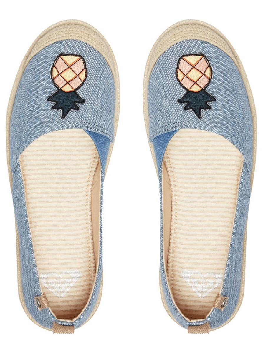 44cc4684df Roxy Flora Slip On modré boty